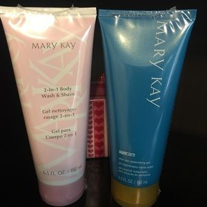 MARY KAY BODY WASH/AFTER SUN GEL SET